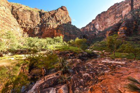 Piccaninny Gorge Heli-Hike View