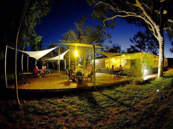 Bungle Bungle Savannah Lodge Outdoor Dinner