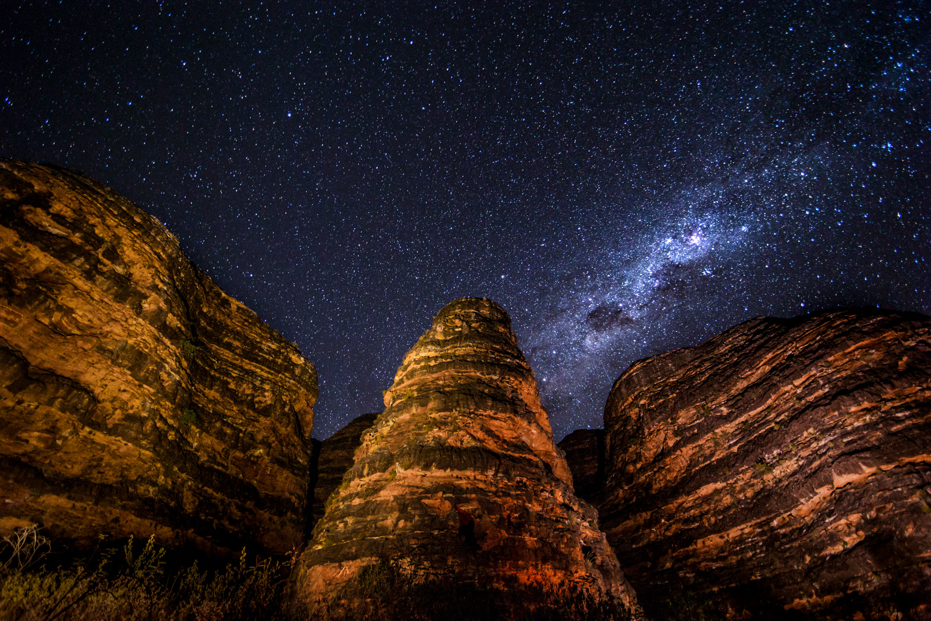 Bungle Bungle night sky Gallery Australia