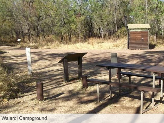 Campsite Walardi Campground Stays