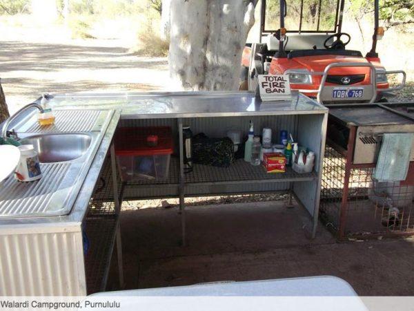 Walardi campground BBGT Australia