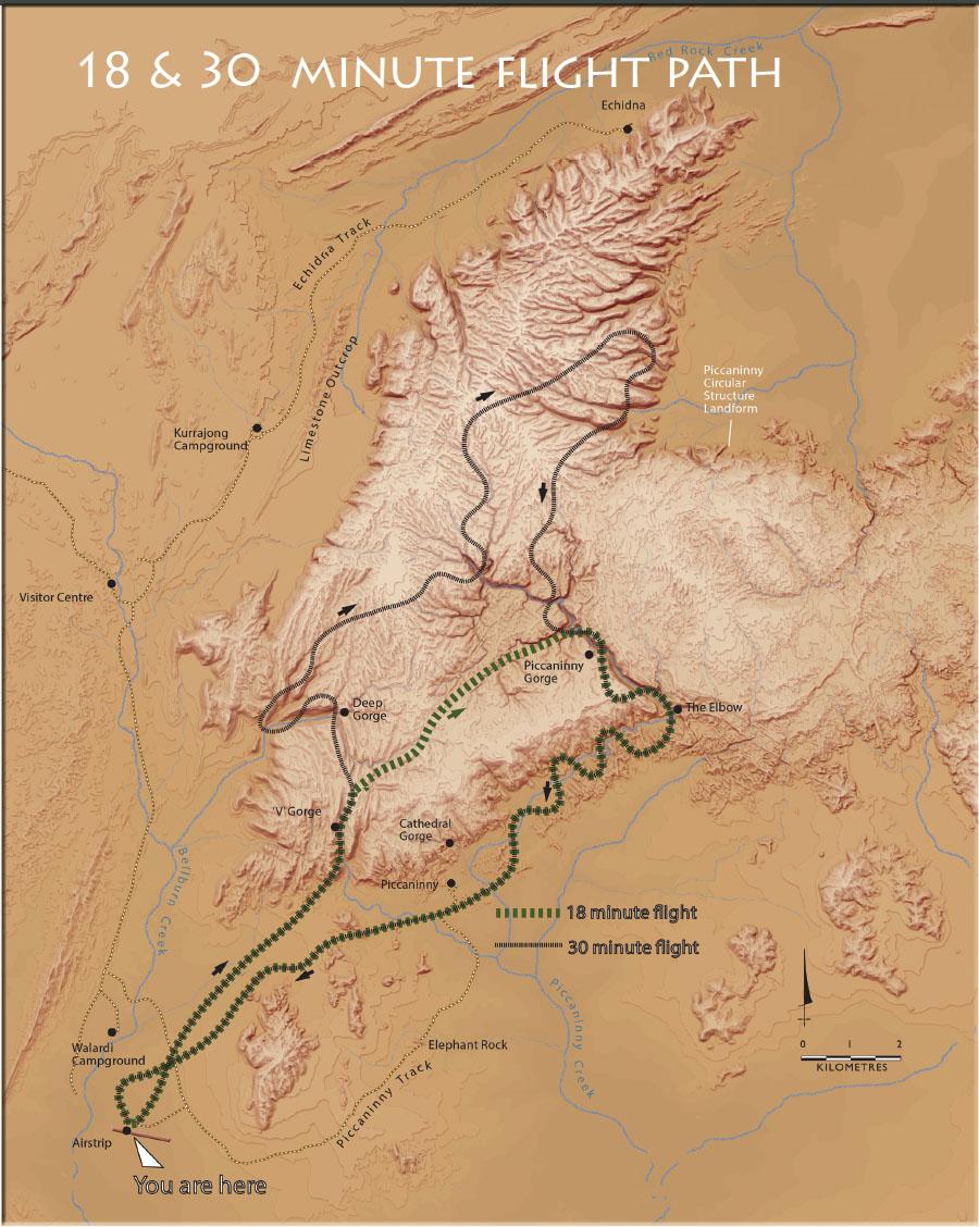 HeliSpirit BBGT helicopter flights map