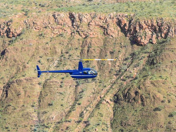 R44 Flying Over Osmands Bungle Bungle Tours