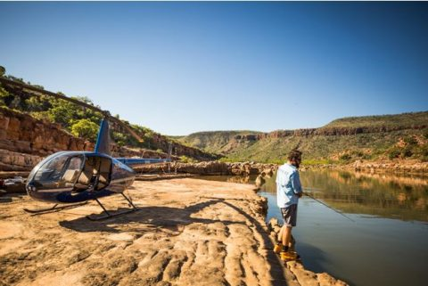 Heli Fishing - Kimberley Outback Tours